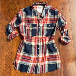 Mossimo flannel plaid shirt